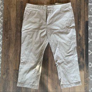 Men's khaki pants, 42x32 Straight leg Claiborne